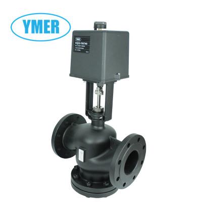 YMER高温蒸汽法兰电动调节阀