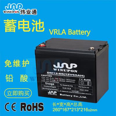 炜业通免维护铅酸蓄电池2V|6